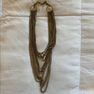 Fake Gold and Silver Necklace